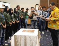 Pengukuhan pengurus Ikatan Jurnalis Telivisi Bungo