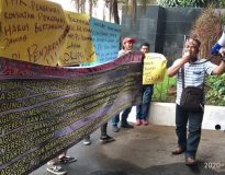 Dugaan korupsi proyek pengaspalan jalan
