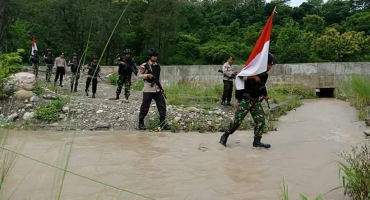 Patroli patok batas negara