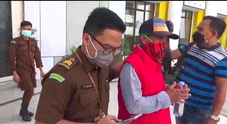 kasus tindak pidana korupsi pekerjaan peningkatan Jalan Pondok Rangon