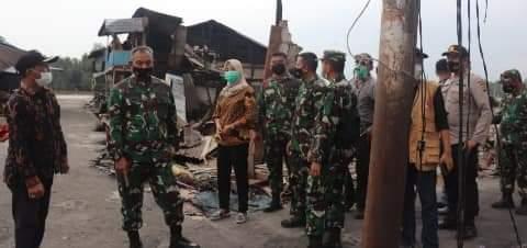 Kebakaran di Tanjung Jabung Timur