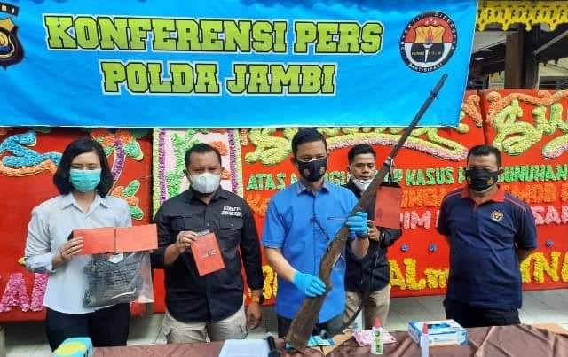 Toke getah di Jambi ditembak