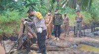 Sumur minyak ilegal di Muaro Jambi