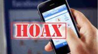 Ilustrasi berita hoax