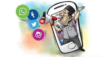 Ilustrasi bermedia sosial