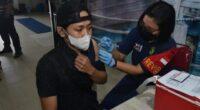 Vaksinasi di Kota Batam