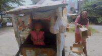 Ibu dan anak di Bungo jadi pemulung