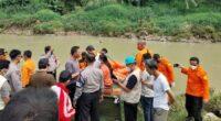 Penemuan mayat di Sungai Cileungsi