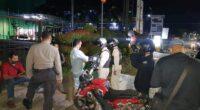 Patroli malam di Kota Jambi