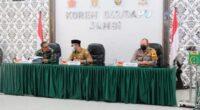Rapat evaluasi penanganan Karhutla
